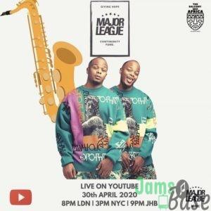 Major League – Amapiano Live Balcony Mix 13 Mp3