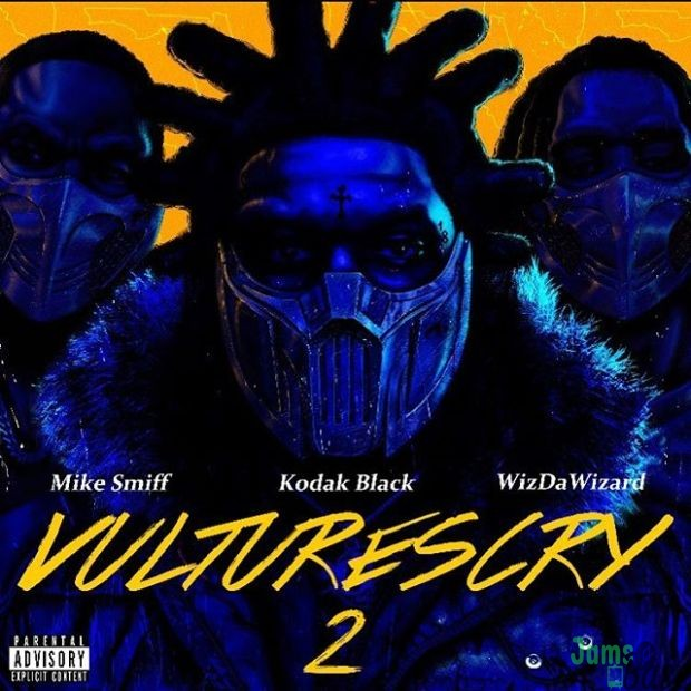Kodak Black Ft. WizDaWizard & Mike Smiff – Vultures Cry 2 Mp3
