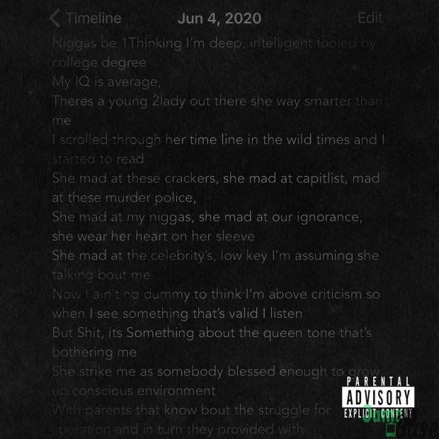 J. Cole – Snow on tha Bluff Mp3