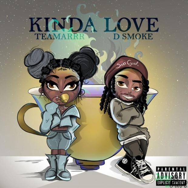 TeaMarr Ft. D Smoke – kinda love Mp3
