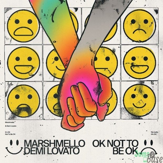 Download MP3: Marshmello Ft. Demi Lovato – OK Not To Be OK