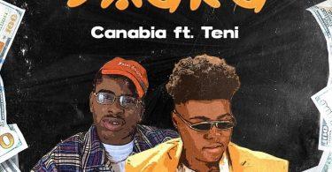 Canabia Shaka ft Teni artcover