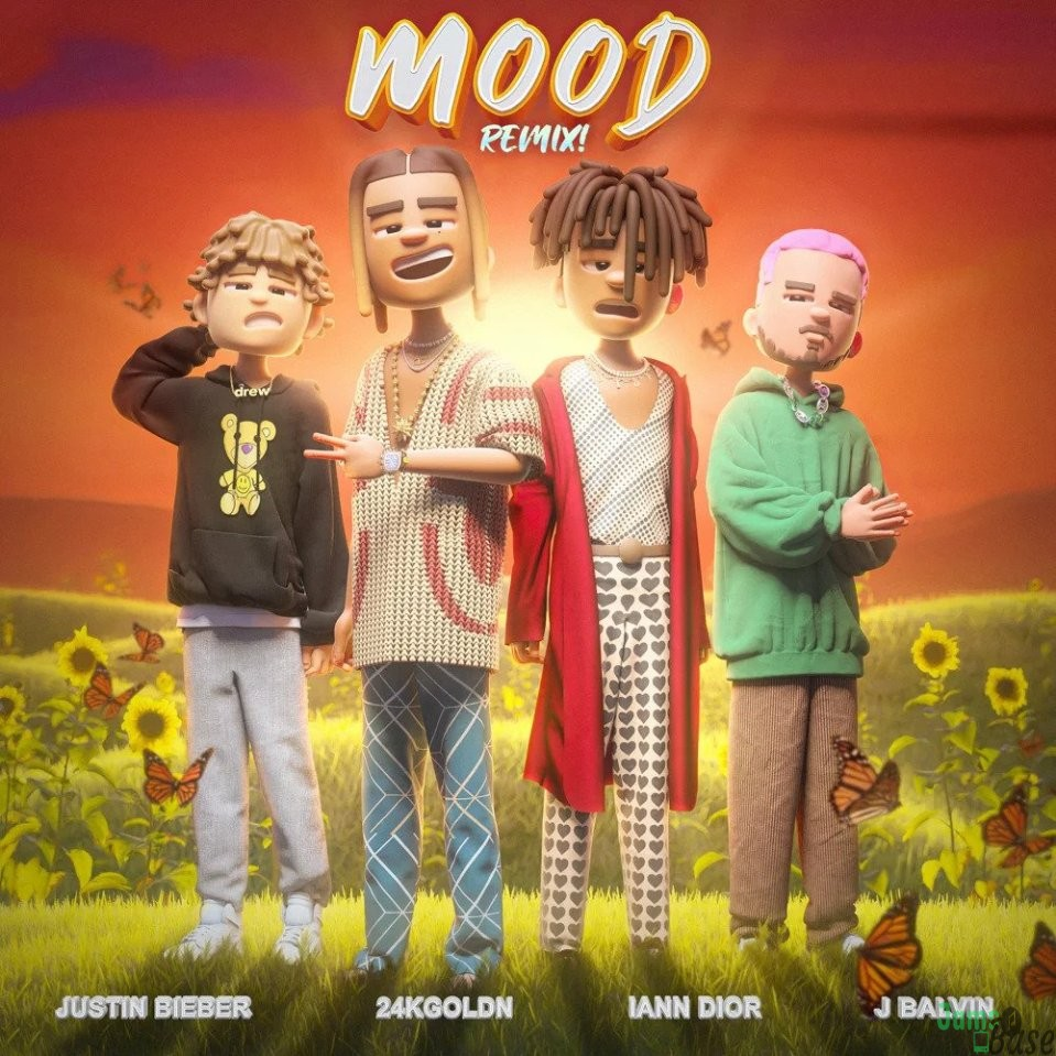 24kGoldn Ft. Justin Bieber, J Balvin & iann dior – Mood (Remix)