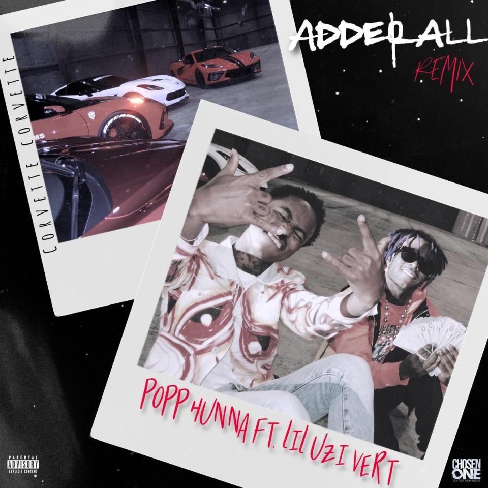 Popp Hunna Ft. Lil Uzi Vert – Adderall (Corvette Corvette) Remix
