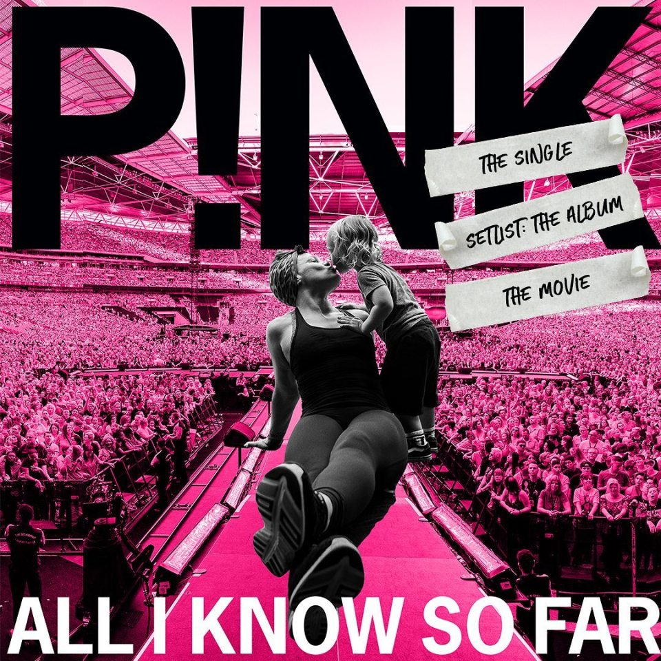 P!nk – Cover Me In Sunshine