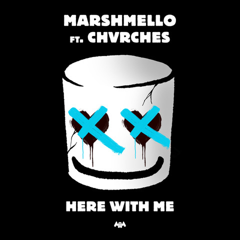 Marshmello Ft. CHVRCHES – Here With Me